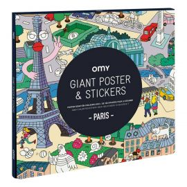 OMY - Poster et stickers Paris