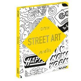Poster à colorier Street art