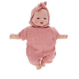 Petite poupée Romane vieux rose