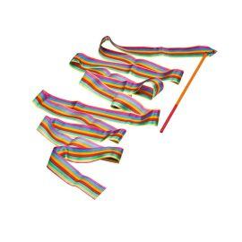 Ruban de gymnaste multicolore