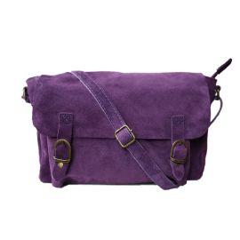 Sac besace violet