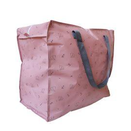 Jumbo bag rose motif éléphants
