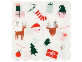 Serviettes de table Noel