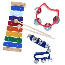 Set de trois instruments de musique
