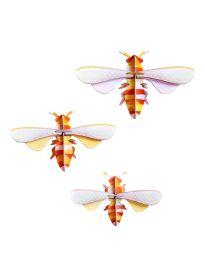 Set de 3 abeilles pop-up