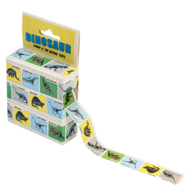Rouleau stickers dinosaures
