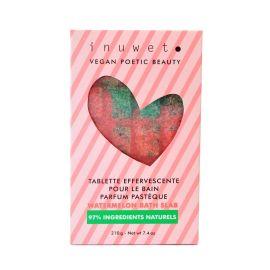 Tablette de bain effervescente pastèque