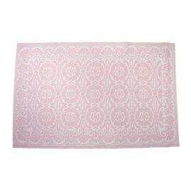 tapis extérieur rose