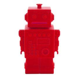Tirelire Robert le robot rouge