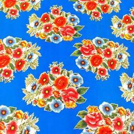 Toile cirée bouquet fleuri