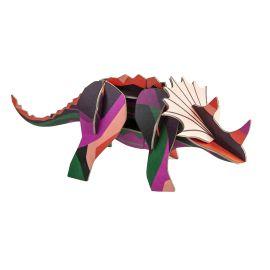Trophée dinosaure triceratops