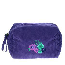 Trousse en velours purple gipsy