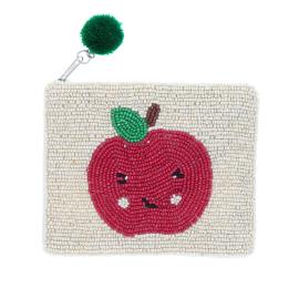 Trousse sequins pomme